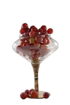 Free Red Grapes In Bowl Royalty Free Stock Photography - 13770267
