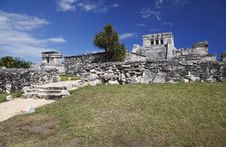 Free Tulum Ruins Stock Images - 13770384