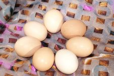 Free Chicken Eggs Royalty Free Stock Images - 13770789