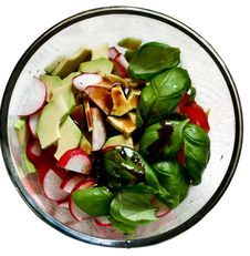 Free Sammer Salad Royalty Free Stock Photo - 13770815
