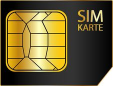 Free Sim Card Stock Photo - 13771240