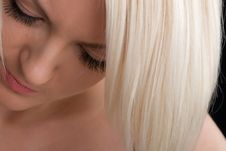 Free Thinking Blonde Women Stock Photography - 13771462