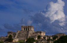 Free Ruins Of Tulum Stock Photo - 13771650