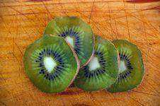 Free Close Up Of Kiwi Fruit Slices Royalty Free Stock Image - 13771826