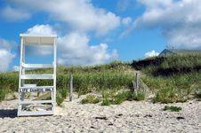 Free Beach Scene Cape Cod Stock Photography - 13772052