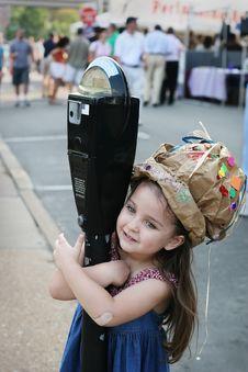 Free Creative Girl Having Fun Stock Photo - 13772820
