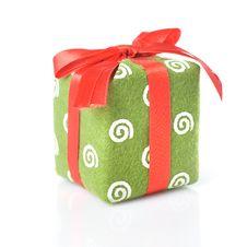 Free Green Gift Royalty Free Stock Photos - 13773168