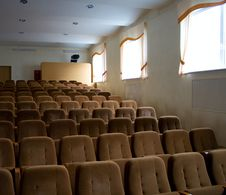 Free Rows Of Empty Seats Royalty Free Stock Photos - 13773388