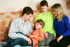 Free Happy Family Royalty Free Stock Photography - 13773437