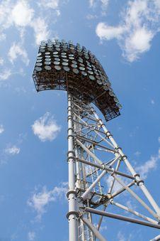 Free Stadium Light Tower Royalty Free Stock Photos - 13773468