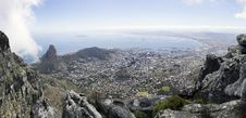 Free Panorma Of Cape Town Royalty Free Stock Images - 13774139