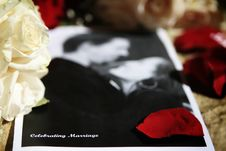 Free Wedding Program Royalty Free Stock Photos - 13774348