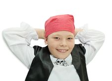 Little Pirate Stock Image