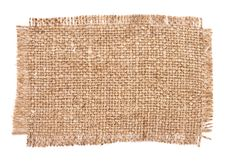 Sackcloth Material Royalty Free Stock Images