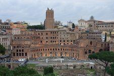 Free Trajian S Market Ruins, Rome - Italy Royalty Free Stock Photo - 13775715