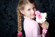 Free Beautiful Little Girl Stock Image - 13776041