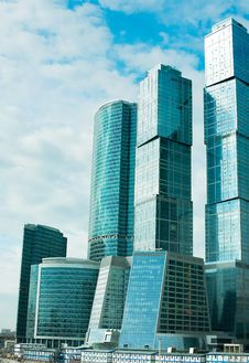 Free Modern Skyscrapers Royalty Free Stock Photos - 13776168