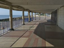 Free Eastbourne Seafront And Bandstand Walk Stock Photography - 13776262