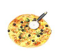 Free Pizza Royalty Free Stock Photo - 13776265
