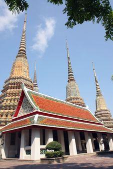 Pavilion In Wat Pho Stock Image