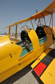 TIGER MOTH  Monoplane Stock Photography
