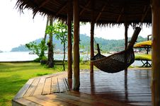 Free Cradle In Cottage Thailand Stock Photography - 13776602