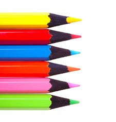Free Color Pencils Stock Photography - 13777362
