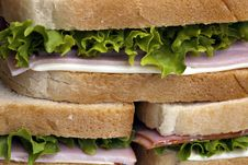 Free Club Sandwich Royalty Free Stock Photography - 13777397