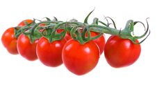 Free Fresh Cherry Tomatoes Royalty Free Stock Images - 13777539