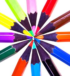 Free Color Pencils Royalty Free Stock Images - 13777669