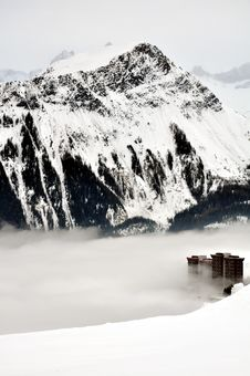 Free Towers In Fog Stock Image - 13777771