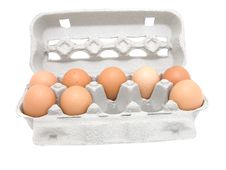 Free Eggs In A Carton Royalty Free Stock Image - 13777856