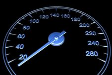 Free Speedometer Royalty Free Stock Photography - 13778167
