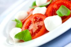 Free Caprese Salad Royalty Free Stock Photography - 13778577