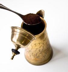 Free Ground Coffee Royalty Free Stock Photo - 13778785