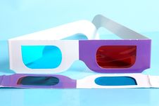 Free Glasses For The Volumetric Image Stock Photography - 13778872