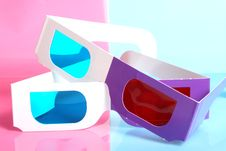 Free Glasses For The Volumetric Image Stock Photography - 13778972