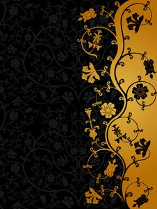Free Floral Pattern Royalty Free Stock Photo - 13779365