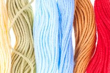 Free Embroidery Floss Royalty Free Stock Images - 13779499