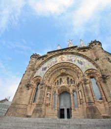 Free Sagrat Cor Temple (Tibidabo, Barcelona) Royalty Free Stock Image - 13779706