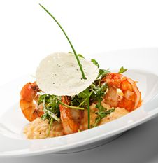 Free Seafood Risotto Royalty Free Stock Image - 13779866