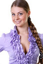 Free Beautiful Blonde Young Woman Royalty Free Stock Photos - 13784148