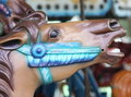 Free Close Up On Merry Go Round Horse Head Stock Image - 13786641