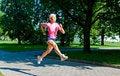 Free Running Girl Royalty Free Stock Photos - 13788518