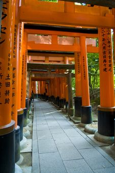 Free Fushimi Inari-taisha Shrine Royalty Free Stock Photo - 13780555