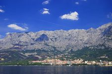 Free Picturesque Scene Of Town Makarska, Croatia Royalty Free Stock Photos - 13780838