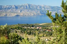 Free Spectacular View On Bracki Channel, Croatia Stock Photos - 13780873