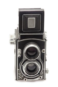 Free Tlr Photo Camera Royalty Free Stock Image - 13780996