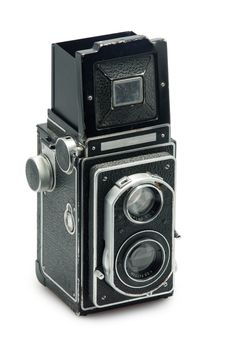 Free Tlr Photo Camera Stock Photography - 13781022