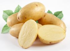 Free Yellow Potatoes Royalty Free Stock Image - 13781386